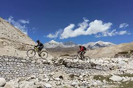 Mountain Bike in Upper Mustang