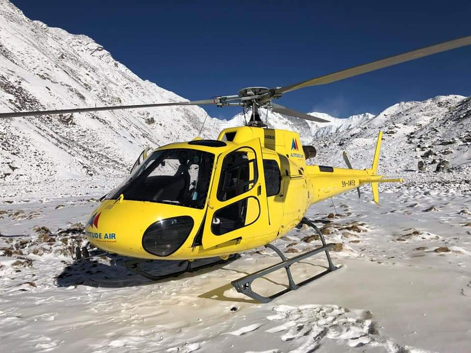 Annapurna Base Camp Heli Tour : Great!