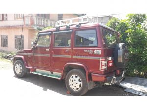 Mahendra bolero jeep rental service Kathmandu Hike on Travels Nepal