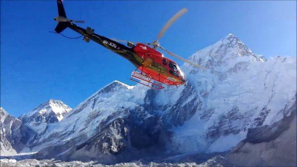 Everest Base Camp Heli tour