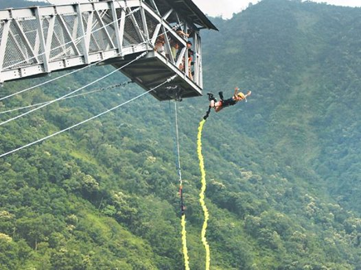 High Ground Nepal Bungee Jump in Pokhara