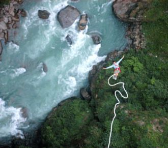 The Last Resort Bungee Jumping In Bhotekoshi River