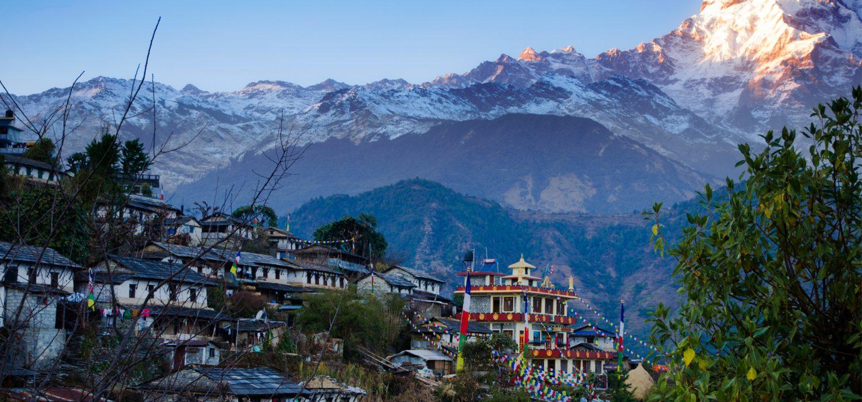 Typical Nepalese village Hike on Treks slider image