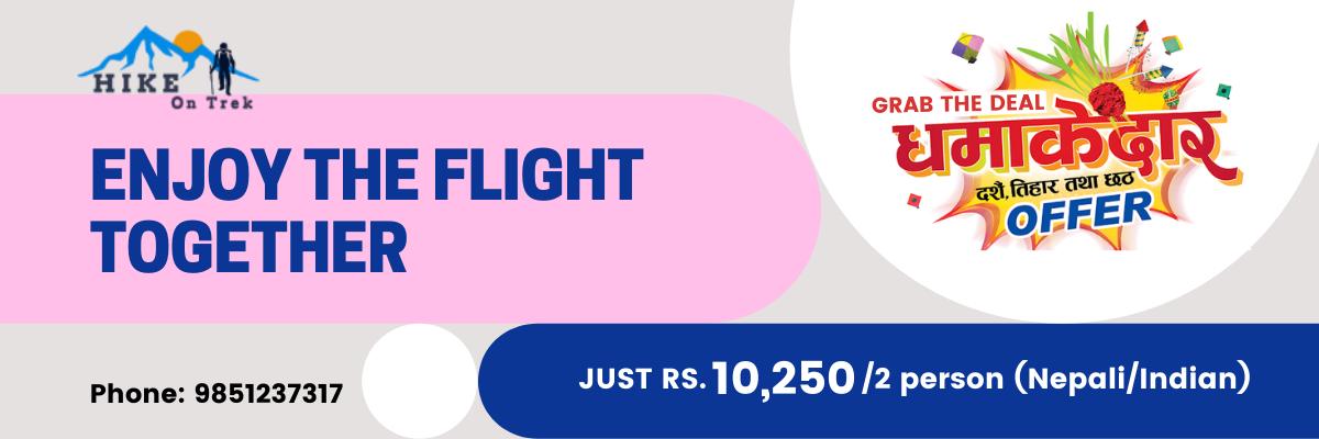 Mountain Flight Nepal Offer