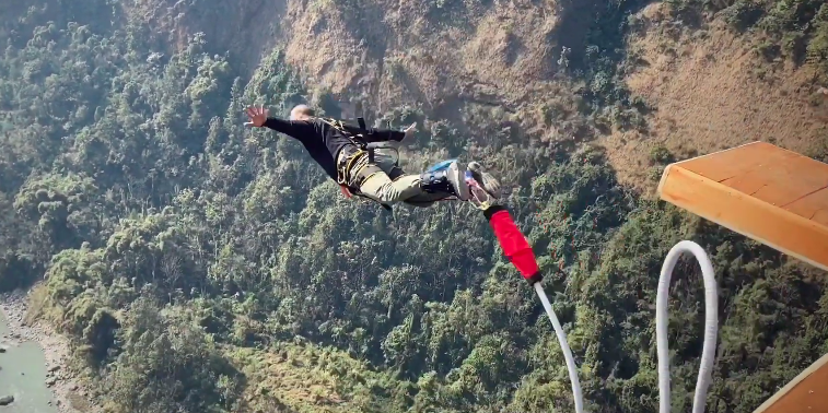 The Cliff Kali Gandaki River Baglung Kusma Bungee