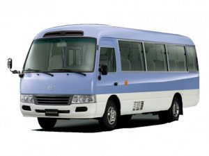 coaster bus on rental or reservation in Nepal